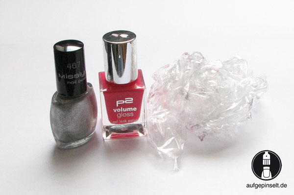 Plastic Wrap Nails 3