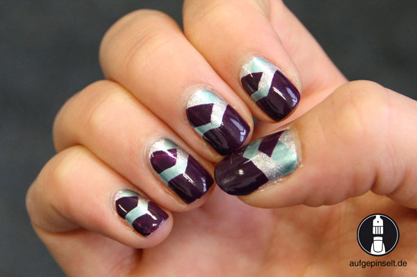 braided nails, geflochtene Nägel