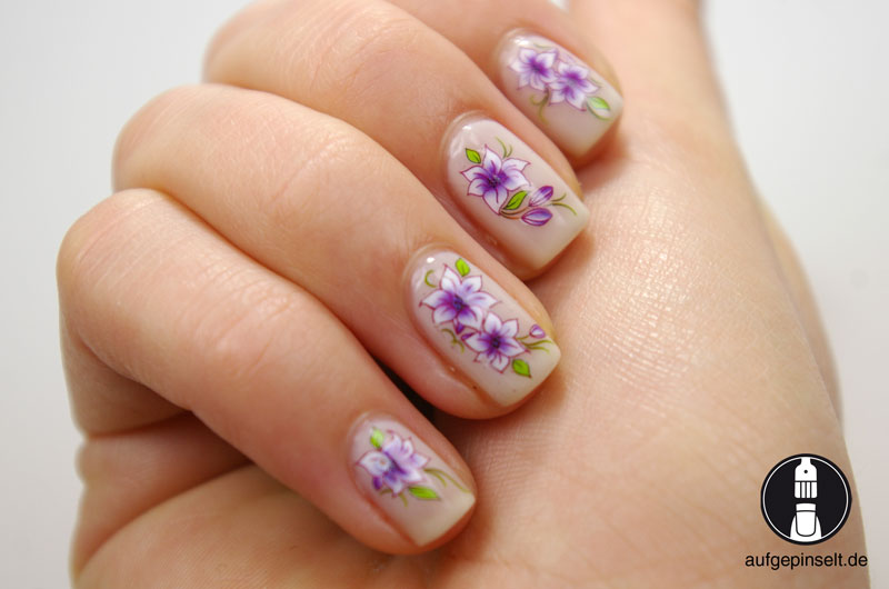 nail tattoos decals water