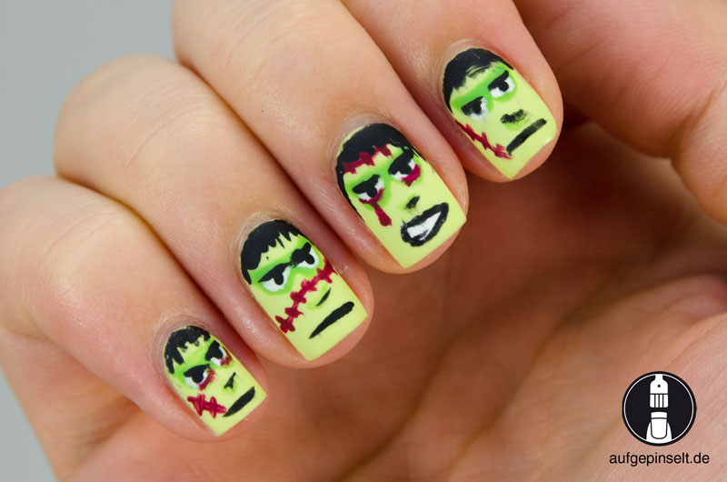 halloween nageldesign 2014