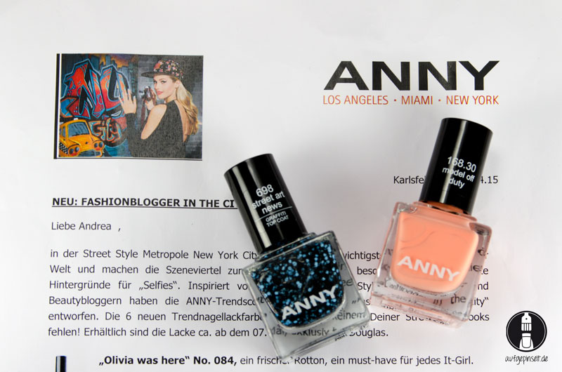 Anny Fashionblogger in the City (PR-Sample)