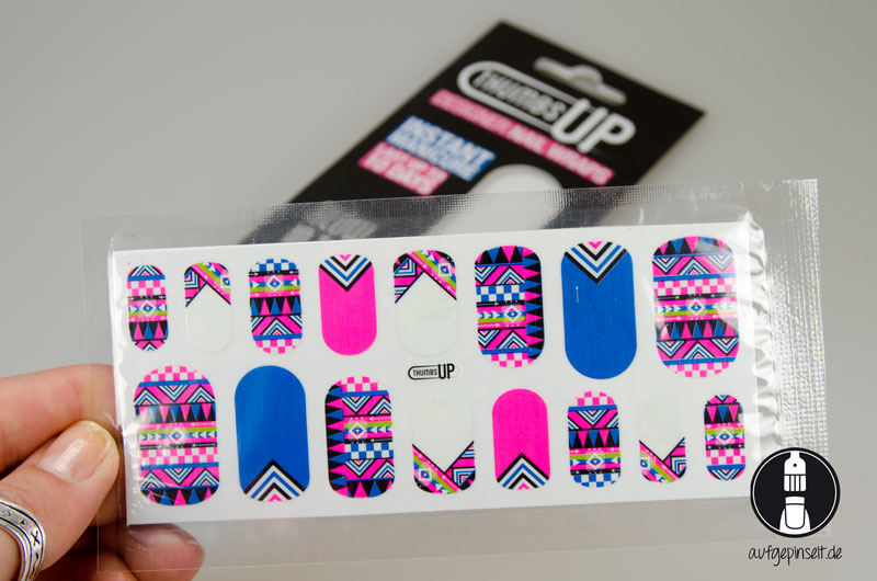 Thumb UP Nailsticker von Marlin Shop
