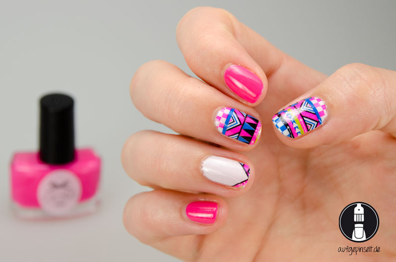 Thumb UP Nail Wraps AZTEC