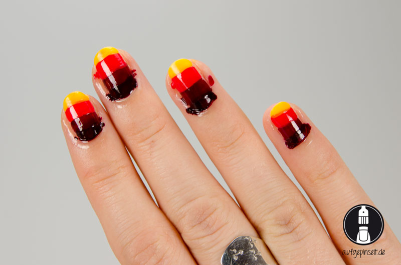 Herbst Nageldesign mit P2 Color Stop Freehand