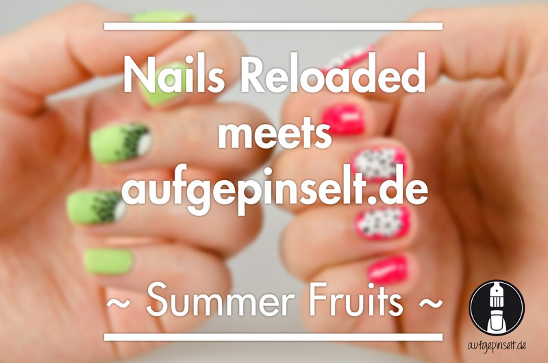 Summer fruit nails