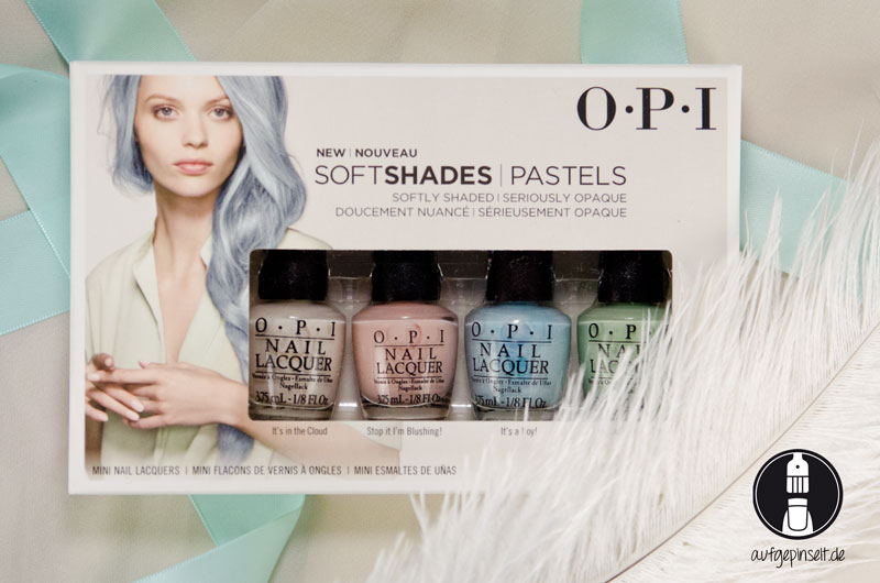 OPI Soft Shades: It's in the cloud | Stop I'm Blushing! | It's a Boy! | This Cost Me a Mint