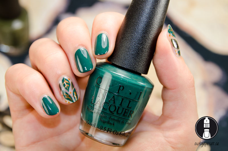 Autumn Nageldesign mit OPI Washington D.C. Kollektion