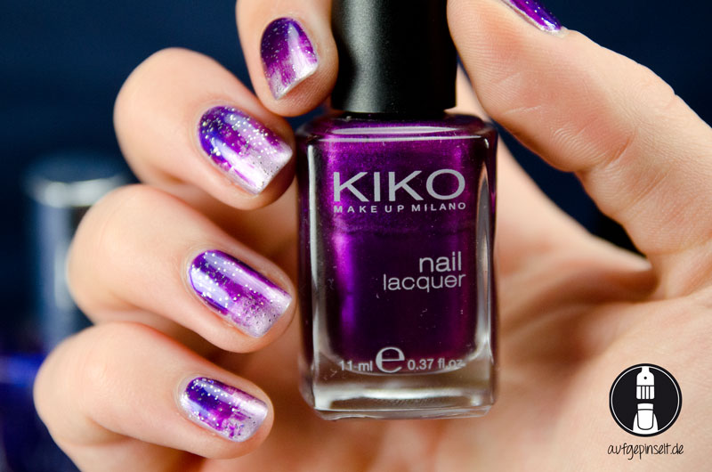Distressed Nails mit Kiko